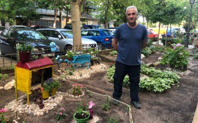 El Jardín Reciclado de Rufino Pérez en Alcorcón
